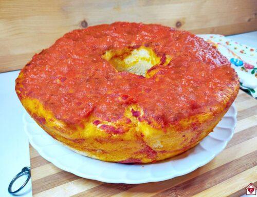 Ciambella di pizza parigina