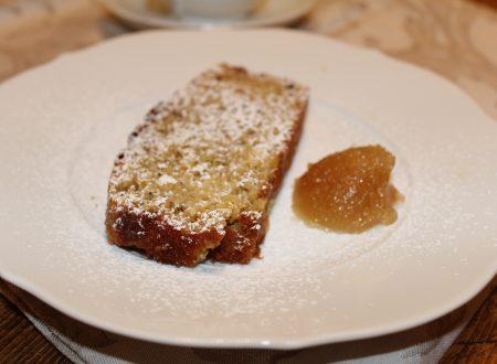 Plum cake alla marmellata di limoni con grano saraceno
