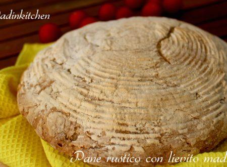 Pane rustico con lievito madre