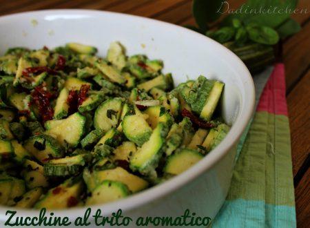 Zucchine al trito aromatico