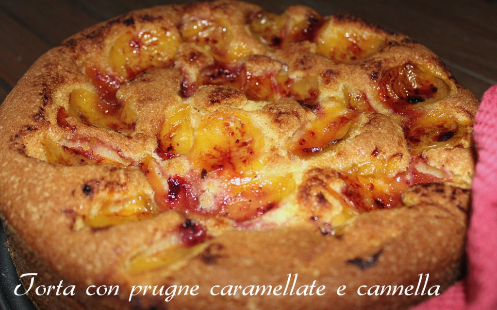 torta con prugne caramellate 007