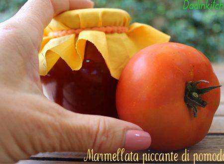 Marmellata  di pomodori piccante
