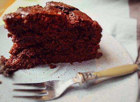 Accenno di torta Sacher