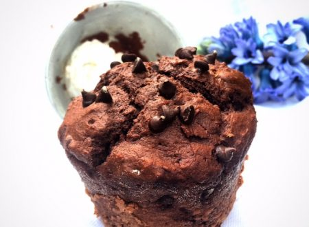 Muffin al cioccolato e miele