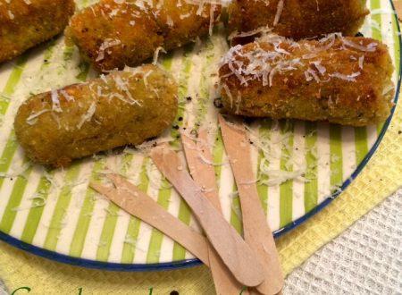Crocchette di carciofi cacio e pepe