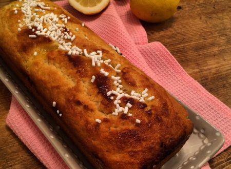 Plumcake con crema al limone