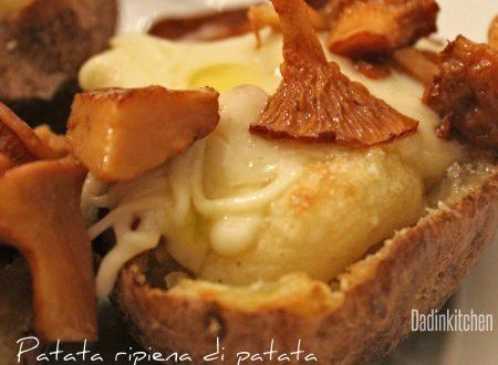 Patata ripiena di patata