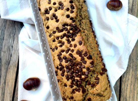 Cake cioccolato caffè e farina di castagne