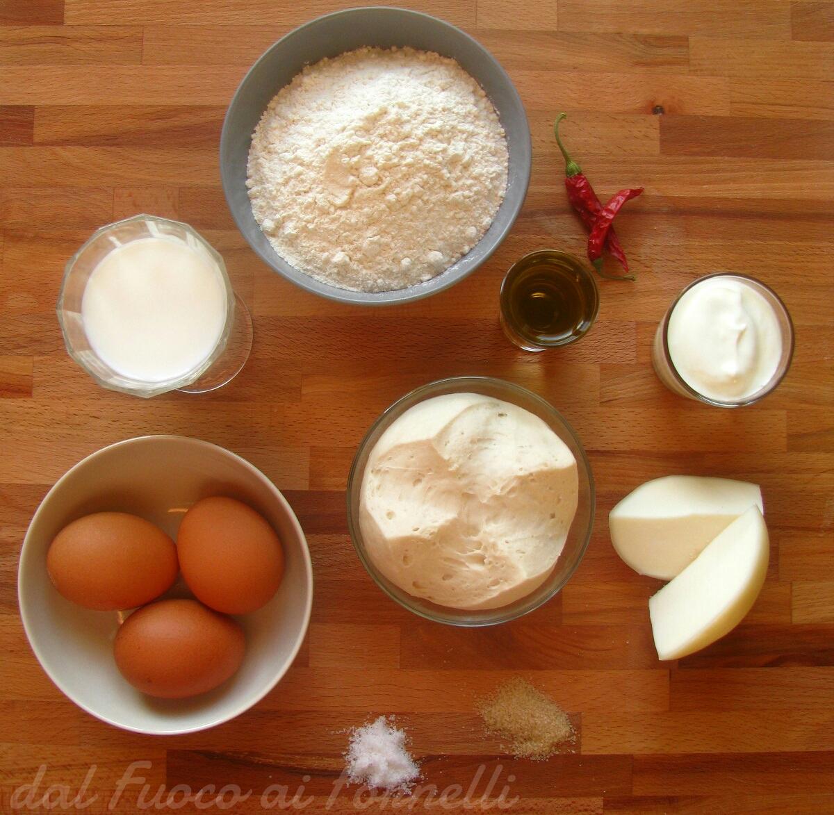 tortino ai peperoni