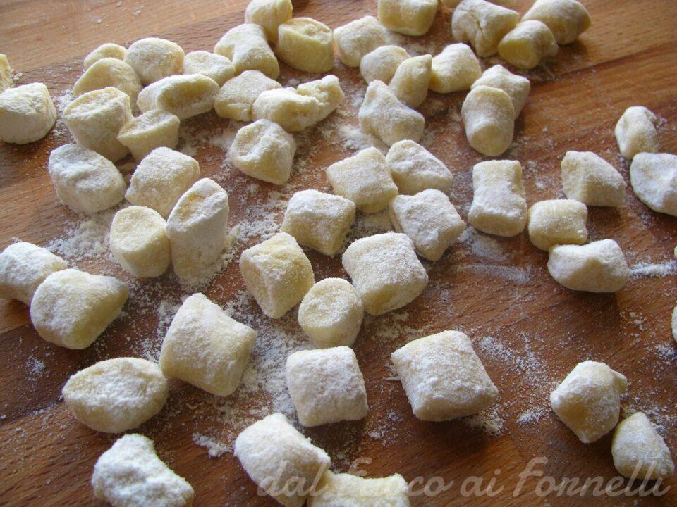 gnocchi al formaggio fresco