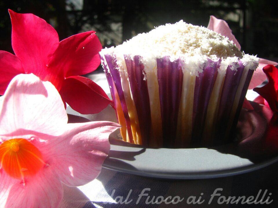 muffin cocco e lime
