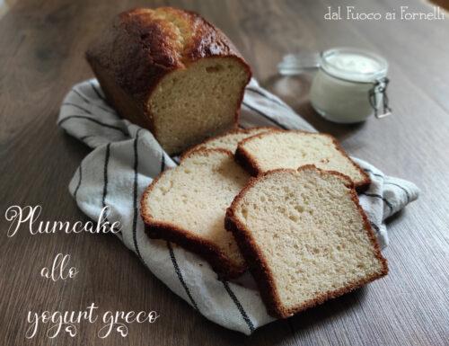 Plumcake allo yogurt greco