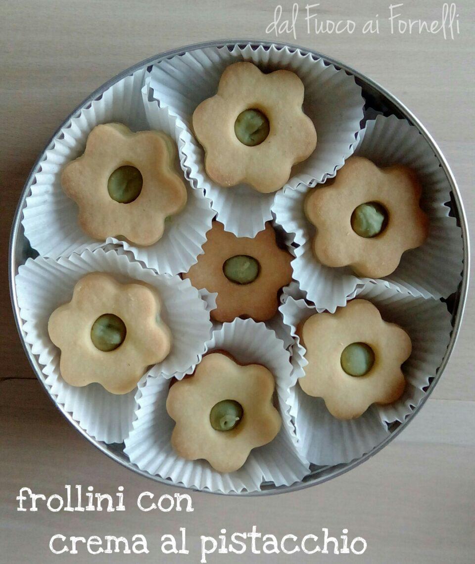 frollini con crema di pistacchi