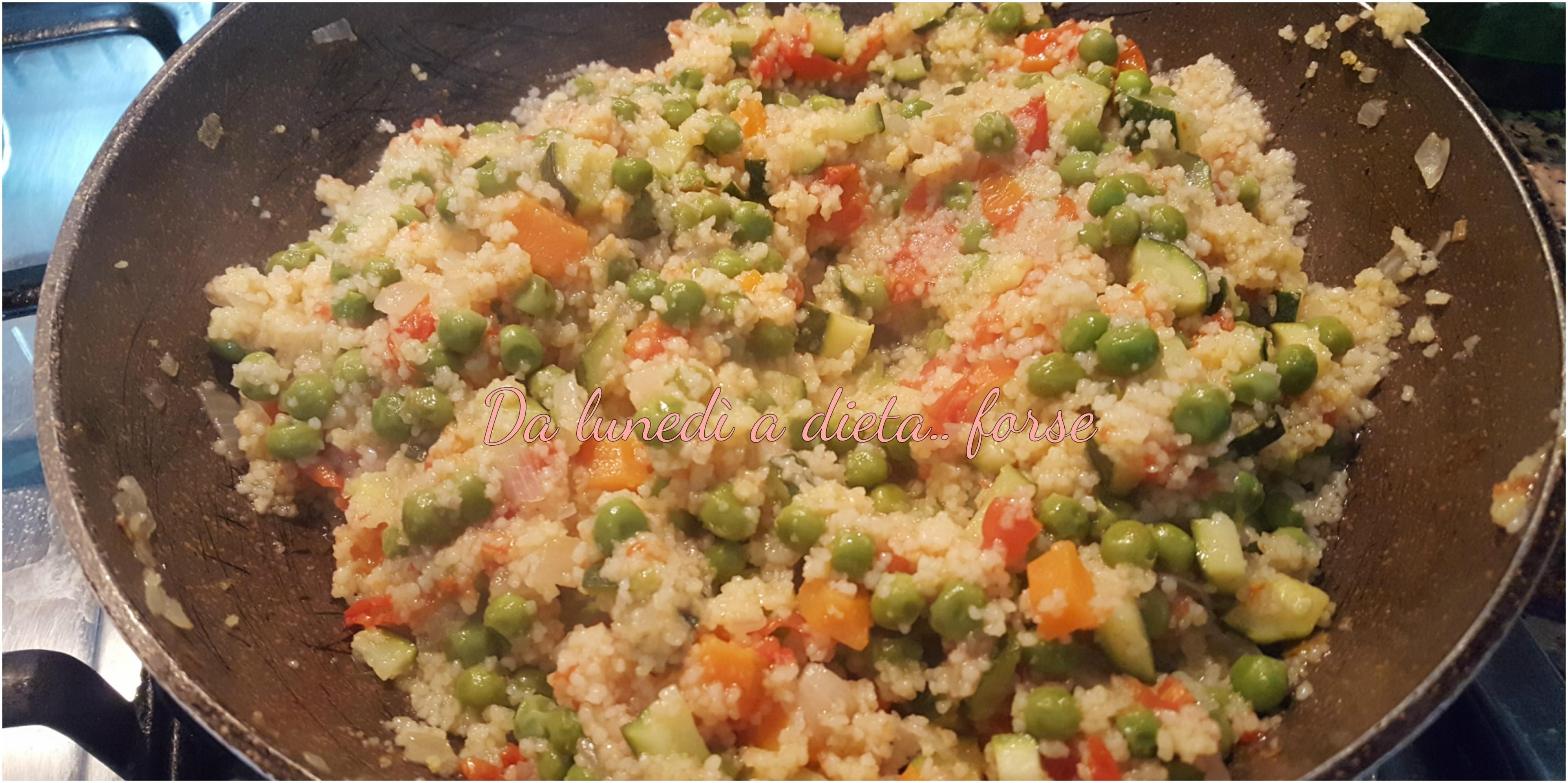 cous cous di verdure a modo mio
