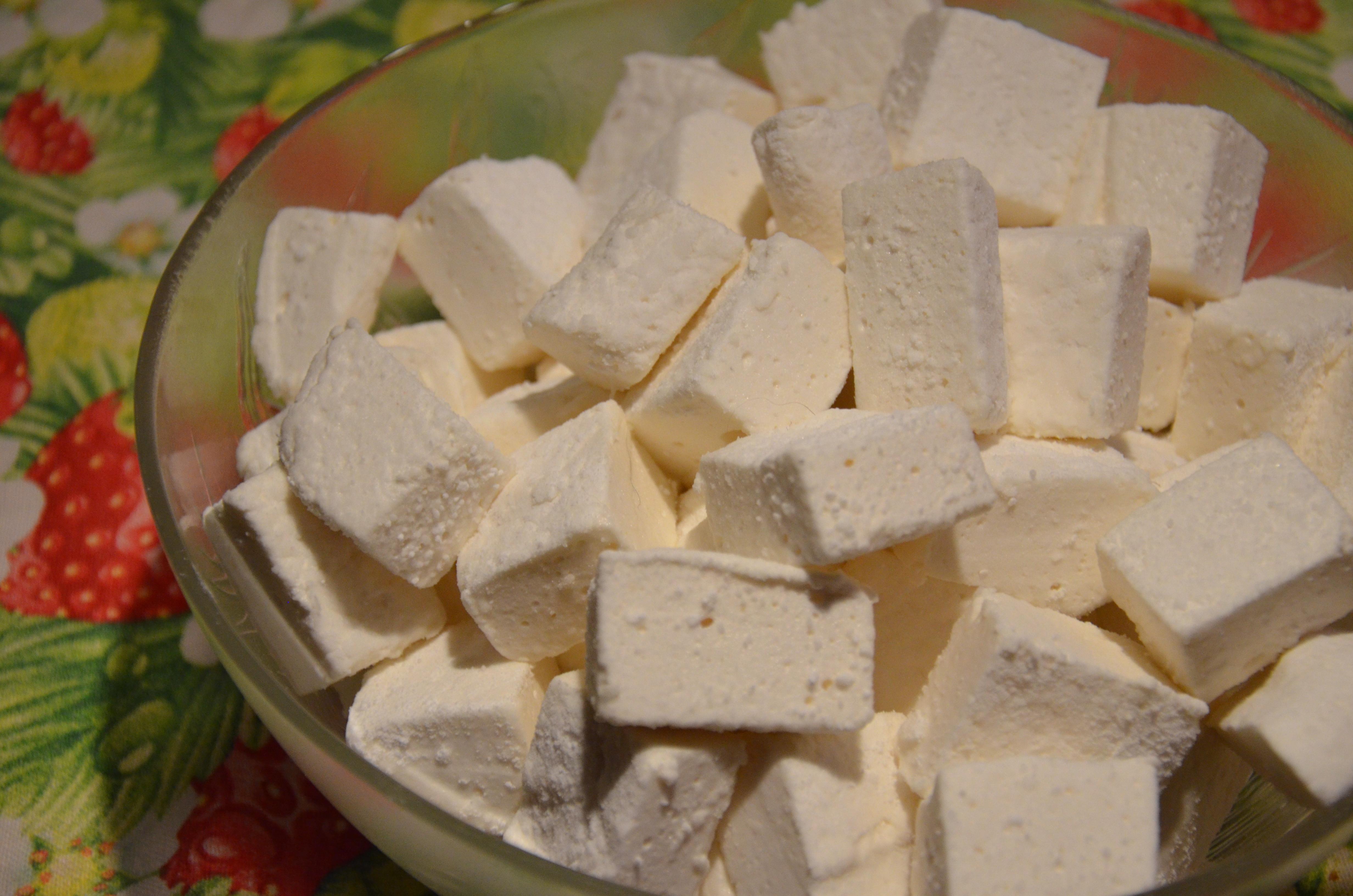 Marshmallows vegani