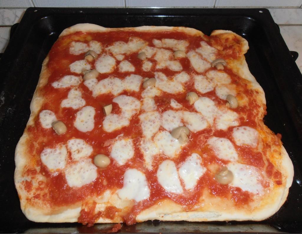 Pizza fatta in casa nuovo impasto la cucina di dani for Pizza in casa