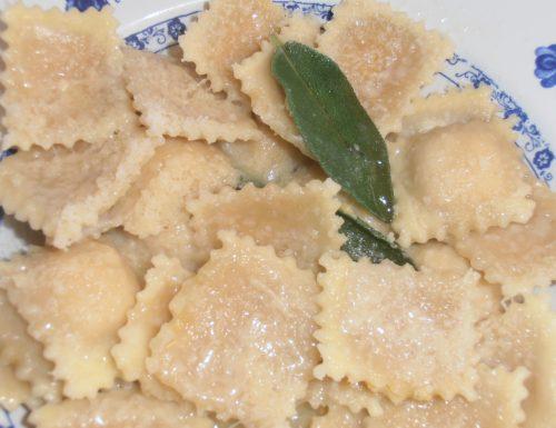 Pansotti di zucca- Pumpkin Pansotti