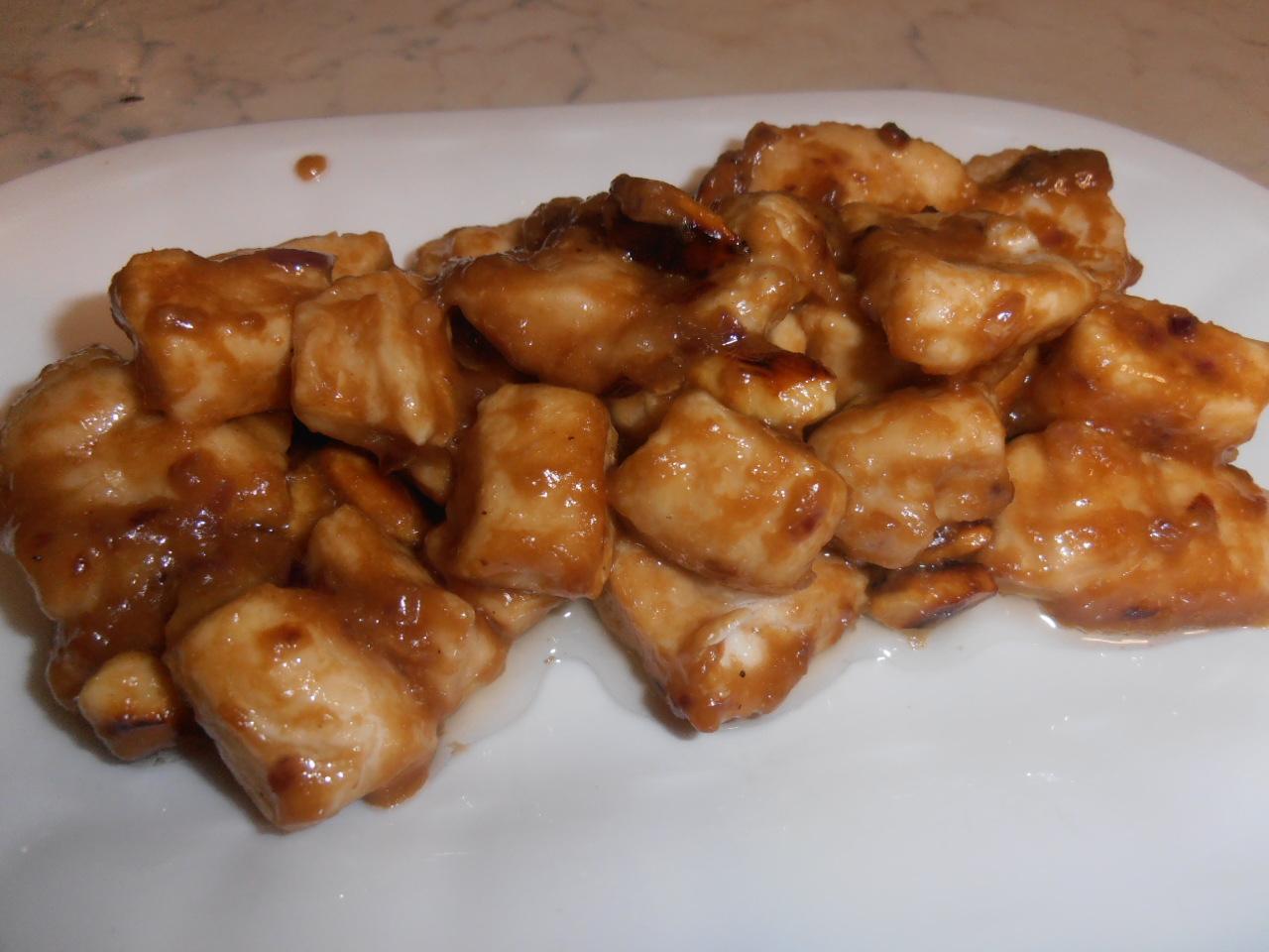 Pollo alle mandorle danicucina for Piatto tipico cinese