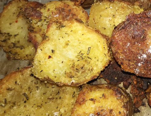 Patate al forno perfette, con la buccia e senza olio