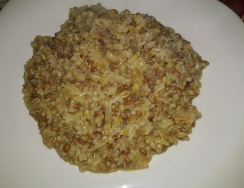 Cinque cereali risottati