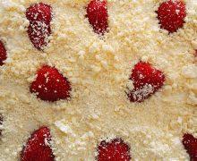 Cheesecake cioccolato bianco, cocco e fragole – CucinaAncheTU!