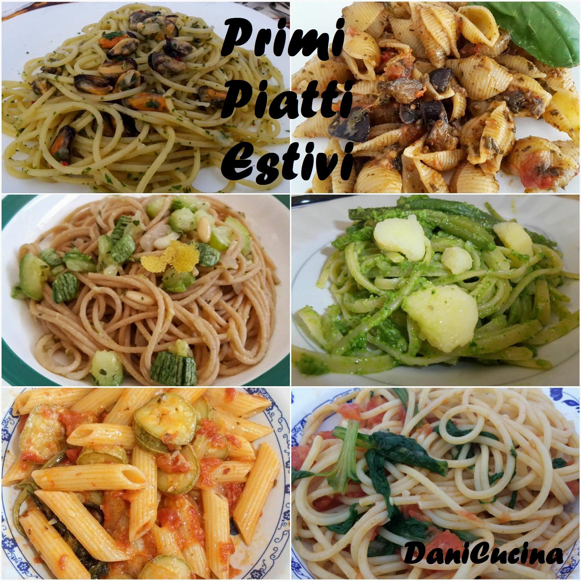 Primi piatti estivi: raccolta ricette 2016