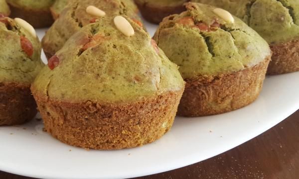 Muffin al pesto genovese (salati!)