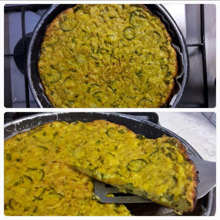 frittata al forno di zucchine