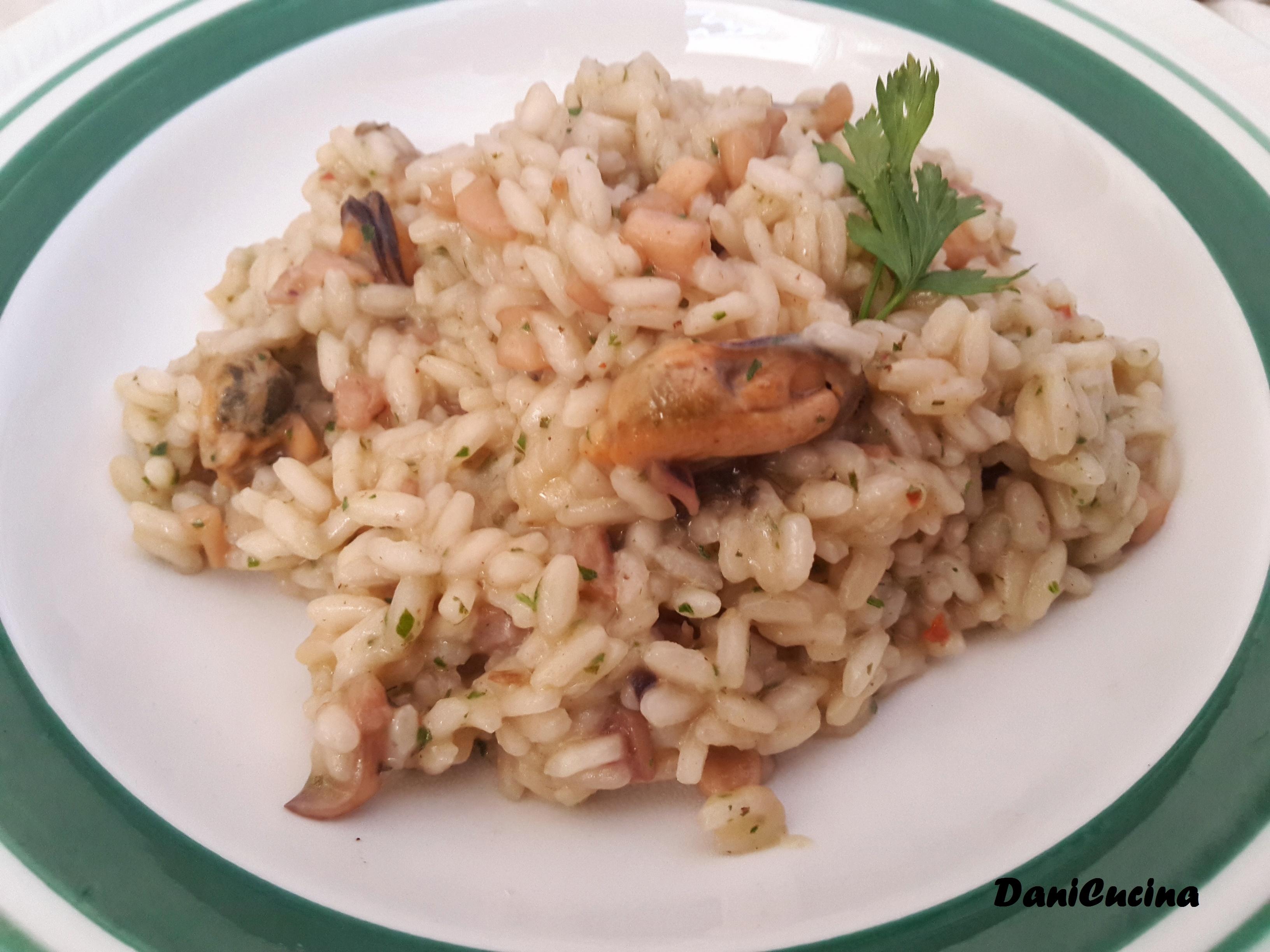 Risotto di mare con pesce surgelato - ricetta per farlo a casa