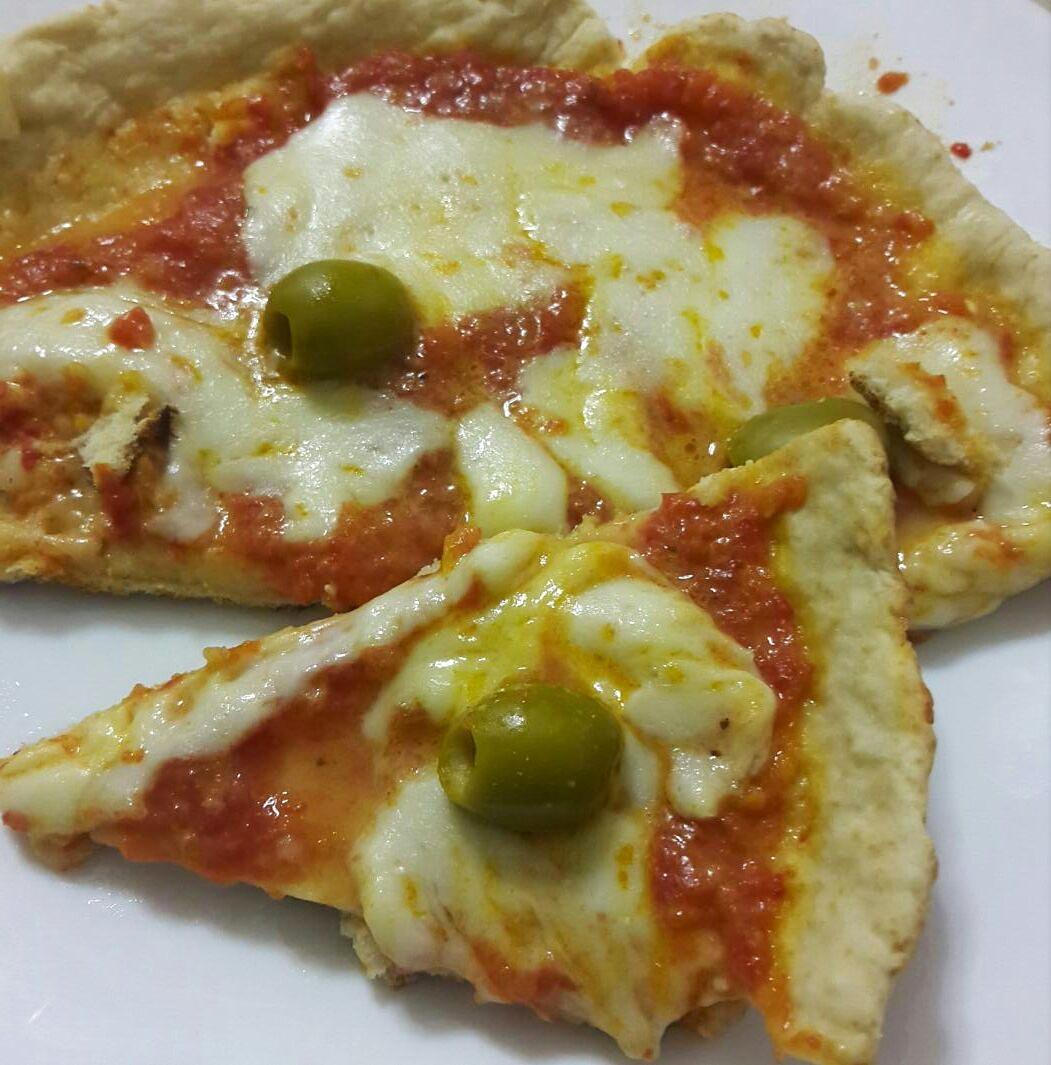 Pizza veloce in padella (senza forno)