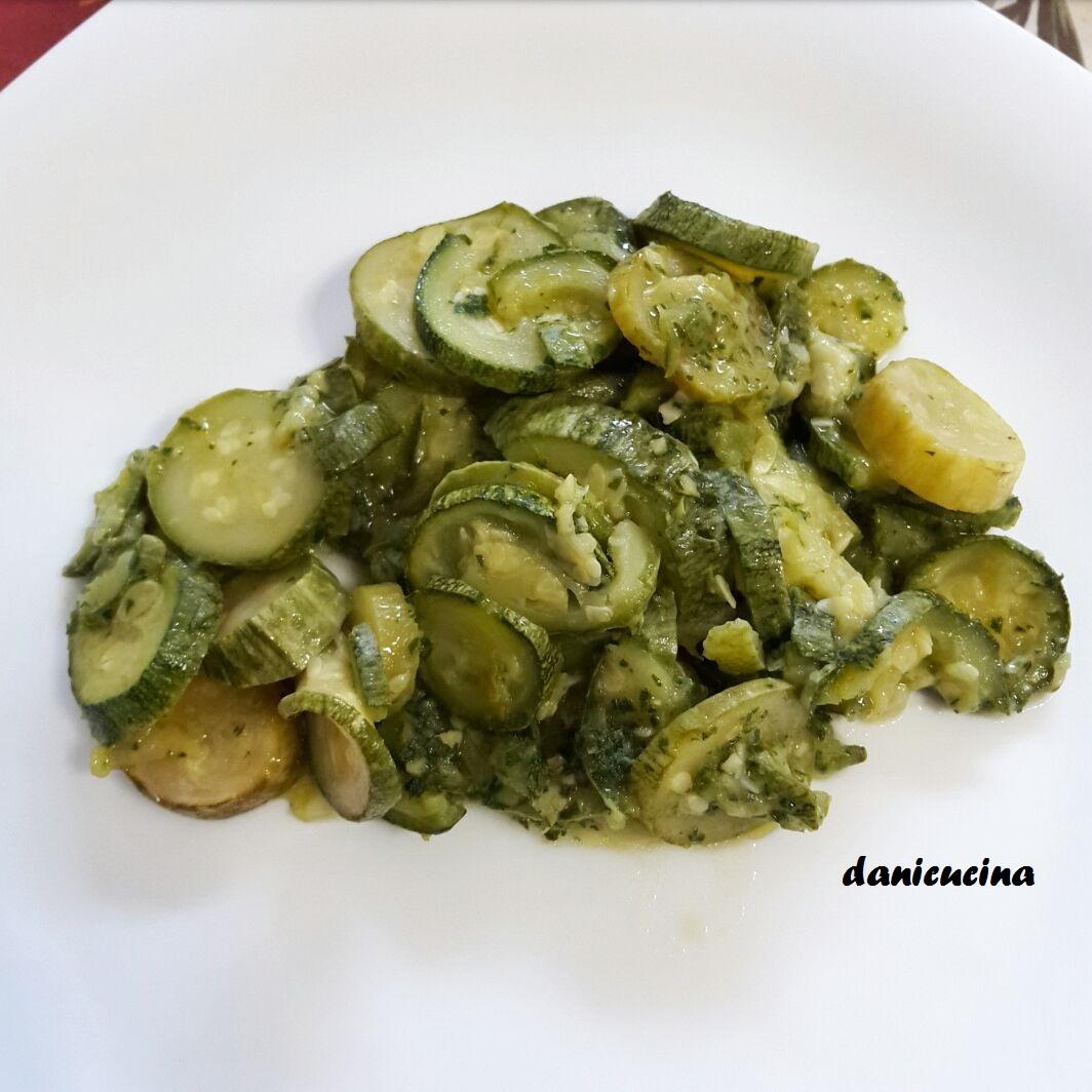 Zucchine trifolate - contorno veloce
