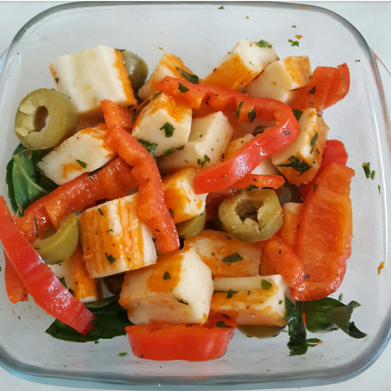 insalata di surimi - ricetta super veloce