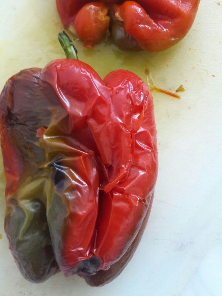 Come spellare i peperoni