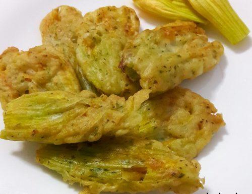 Fiori di zucca in pastella – ricetta perfetta