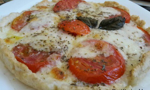 Pizza Caprese Veloce – con lievito istantaneo