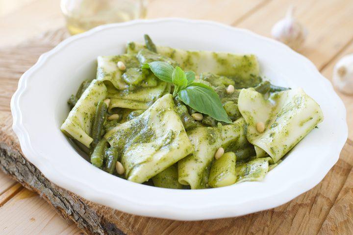 Mandilli de Saea - (le vere Lasagne al Pesto Genovesi)