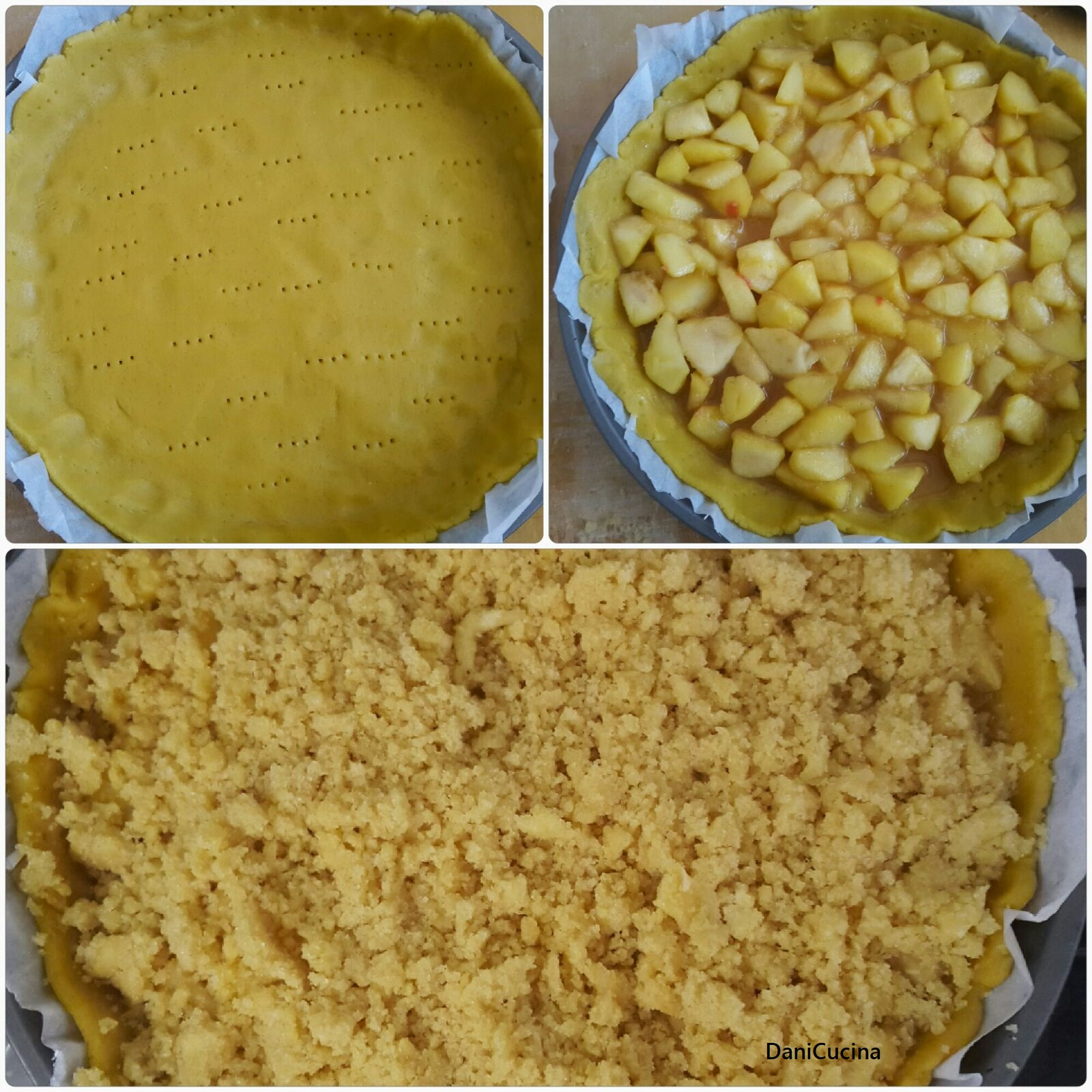 Crostata Crumble di Mele