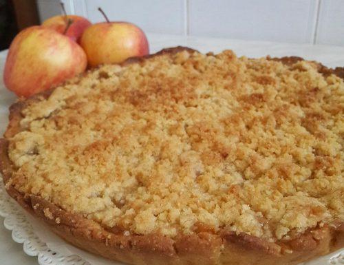 Crostata Crumble di Mele – Apple Crumble Pie