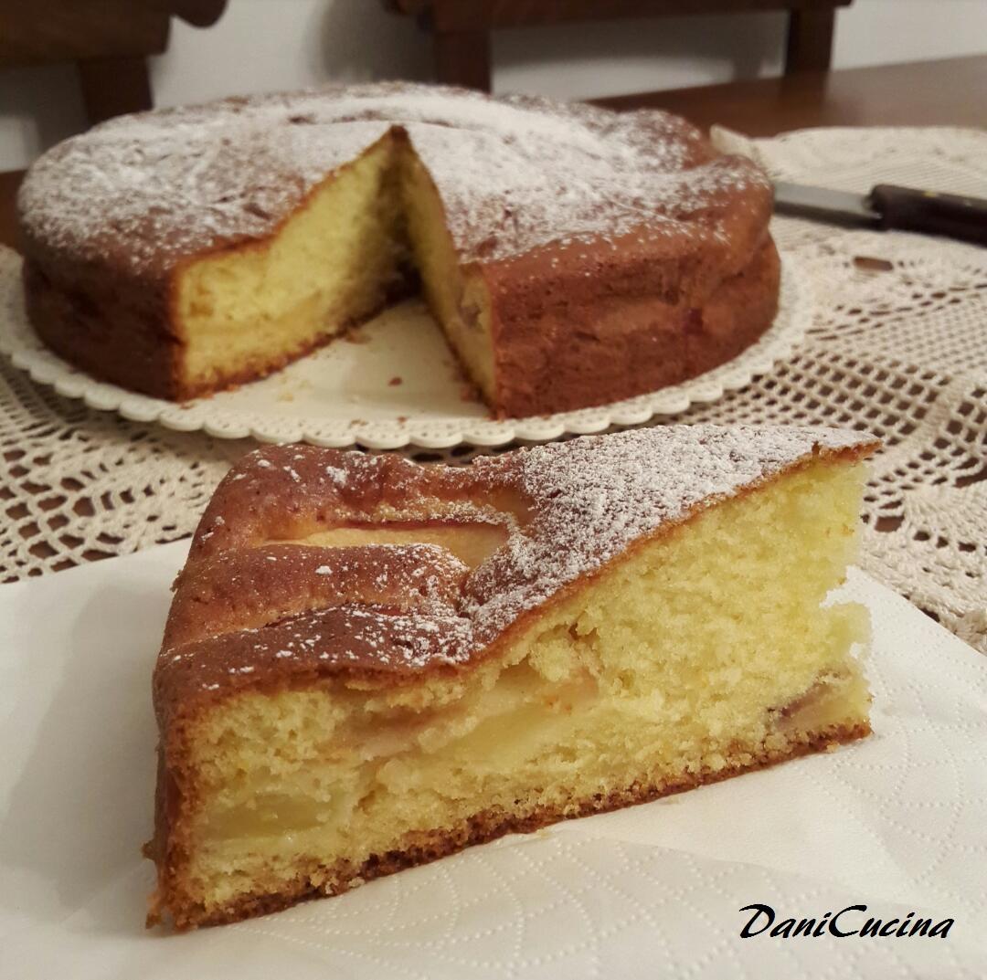 Torta Mele e Mascarpone - senza burro e senza olio!