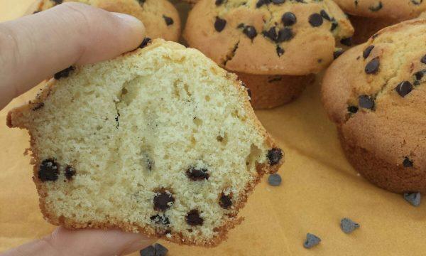 Muffin con gocce di cioccolato – ricetta originale
