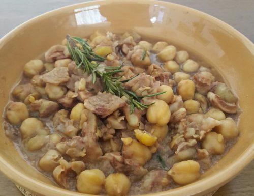 Zuppa di Ceci e Castagne – ricetta toscana