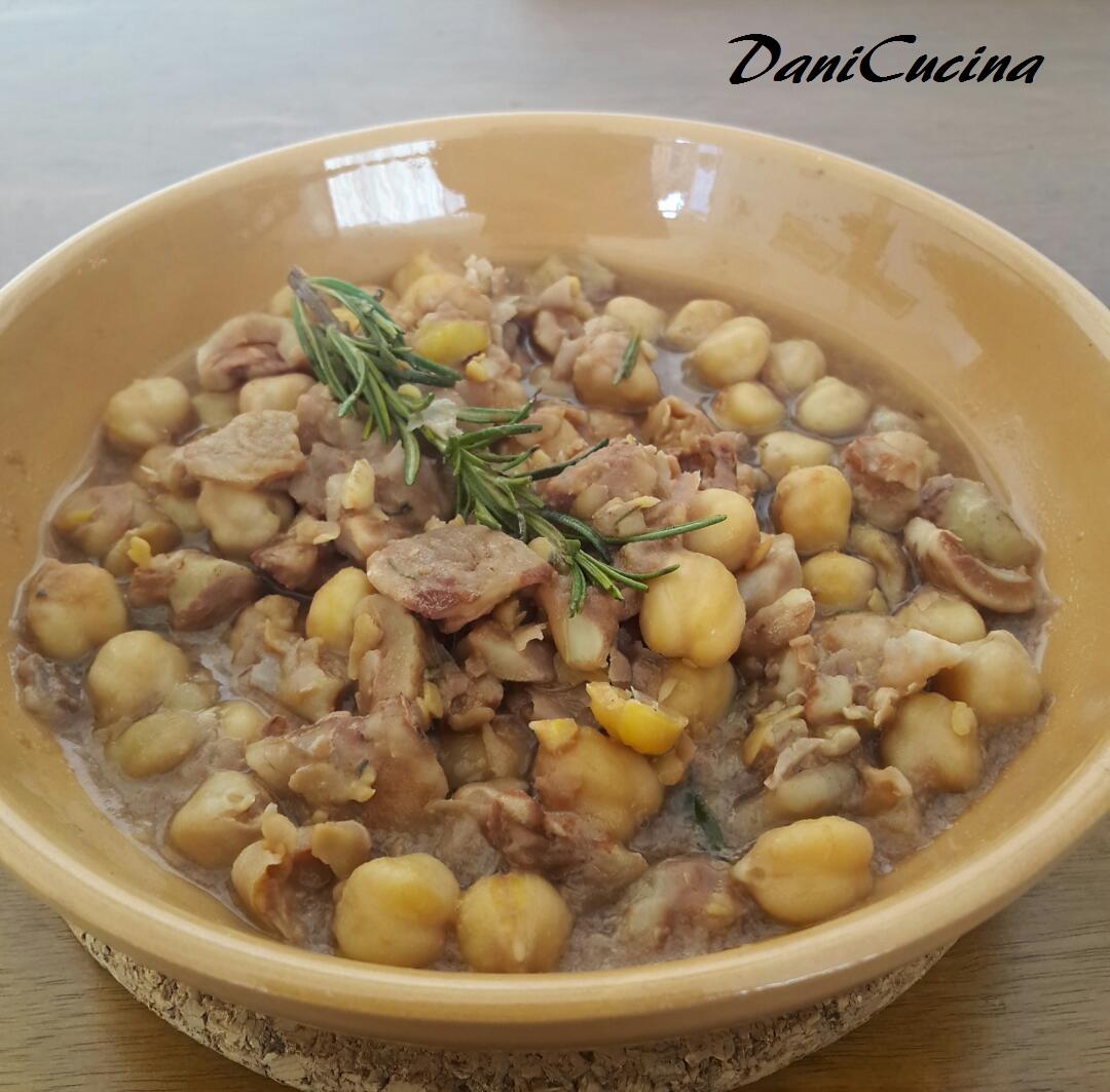 Zuppa di Ceci e Castagne - ricetta toscana