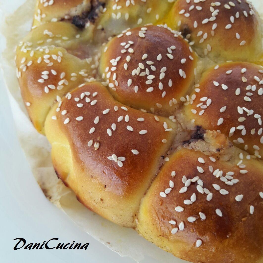 Danubio salato sofficissimo - prosciutto mozzarella pate' olive