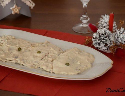 Vitello Tonnato (o Vitel Tonné) – Ricetta Piemontese