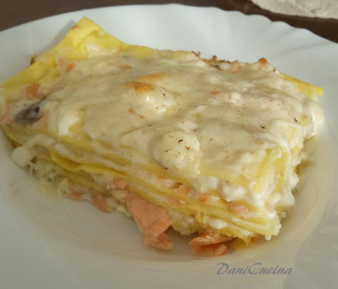 Lasagne Al Salmone Affumicato Danicucina