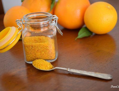 Scorza di arancia in polvere – aroma per dolci homemade