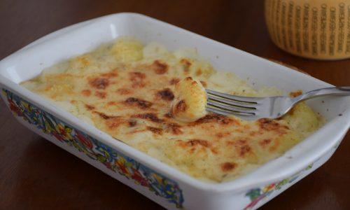 Gnocchi alla parigina con gorgonzola (tipo parigina)
