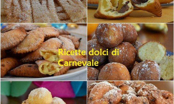 Raccolta Ricette dolci di Carnevale