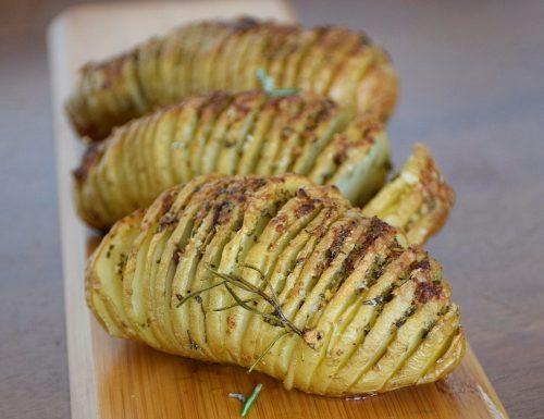Patate hasselback (patate a fisarmonica)