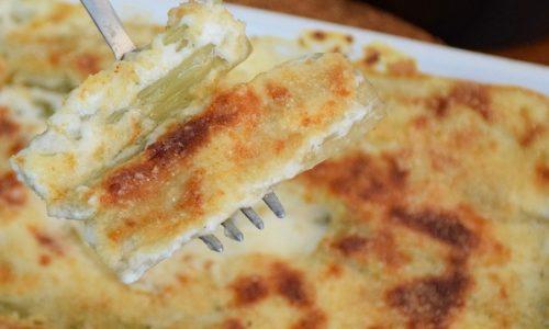 Cardi gratinati in forno con besciamella